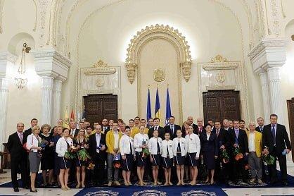 Medaliatii de la Olimpiada, premiati cu 5 milioane de euro