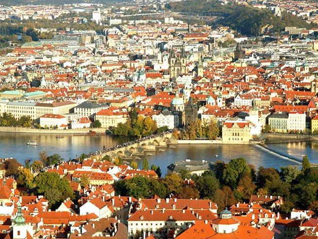 Praga, orasul romantic