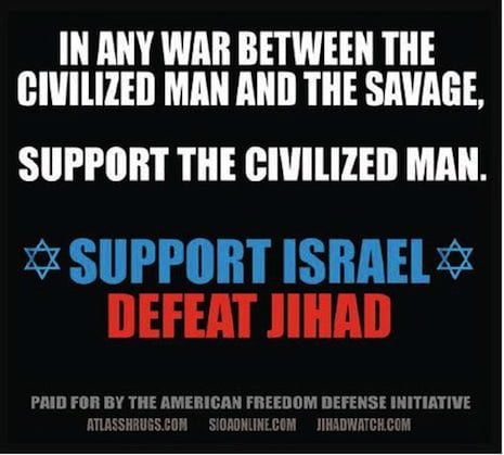 Campanie in metroul new-yorkez: fundamentalistii islamici sunt niste salbatici