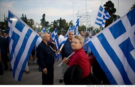 Acord in Grecia, privind masurile de austeritate