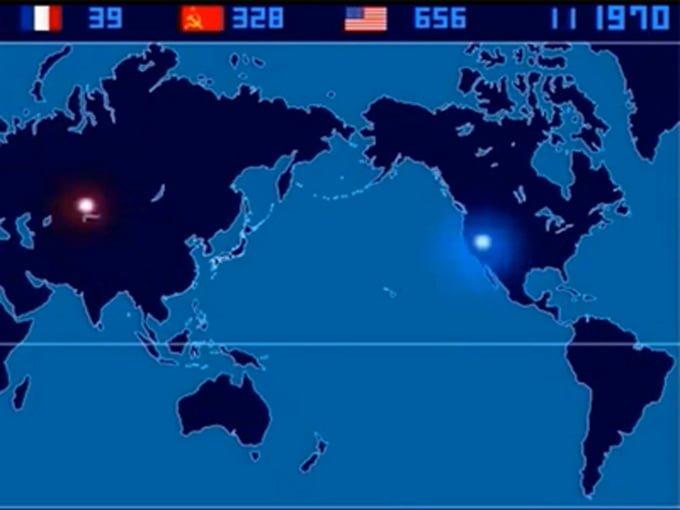 HARTA EXPLOZIILOR NUCLEARE MONDIALE IN 14 MINUTE: 2.053 de explozii intr-un videoclip
