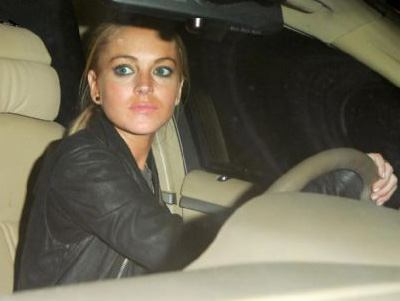 Lindsay Lohan a fost arestata