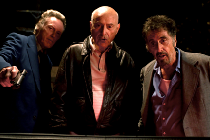 "Al Pacino, Christopher Walken si Alan Arkin in ""STAND UP GUYS"""