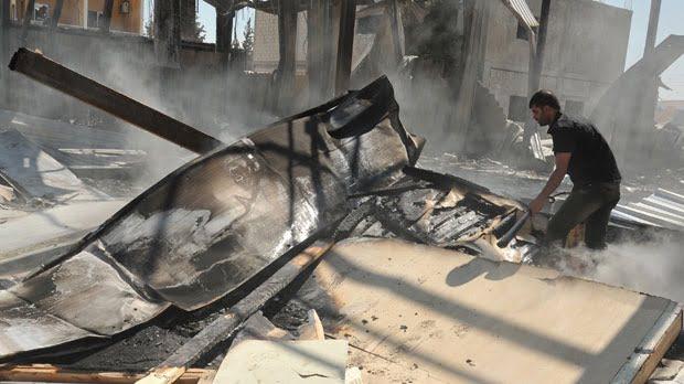 Atentat la Damasc, soldat cu zeci de morti si raniti
