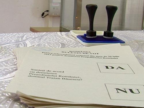 18 presedinti de sectii de votare din Olt, pusi sub acuzare pentru fraude la referendum