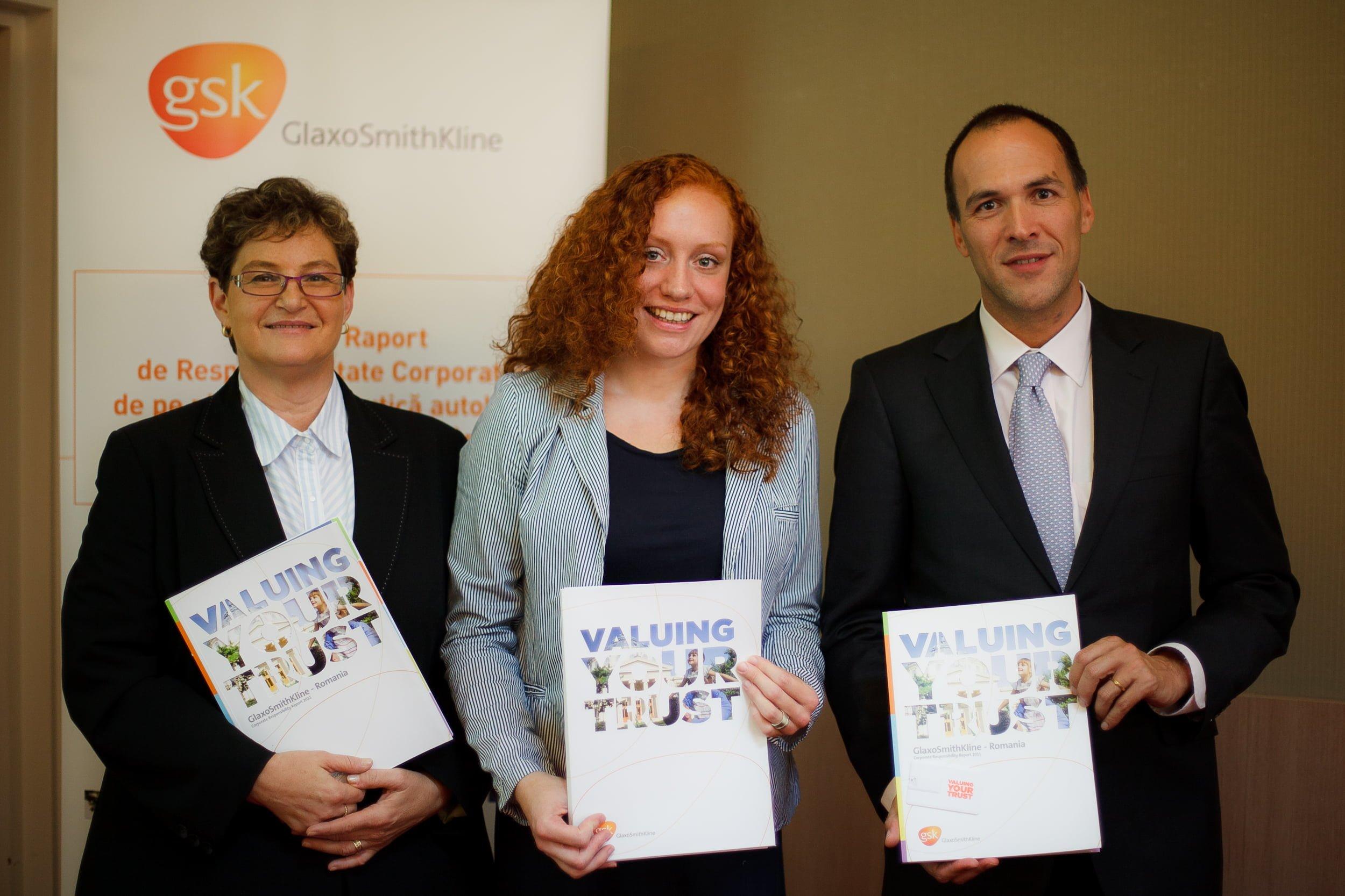 GSK a lansat primul raport de sustenabilitate al unei companii farmaceutice din Romania