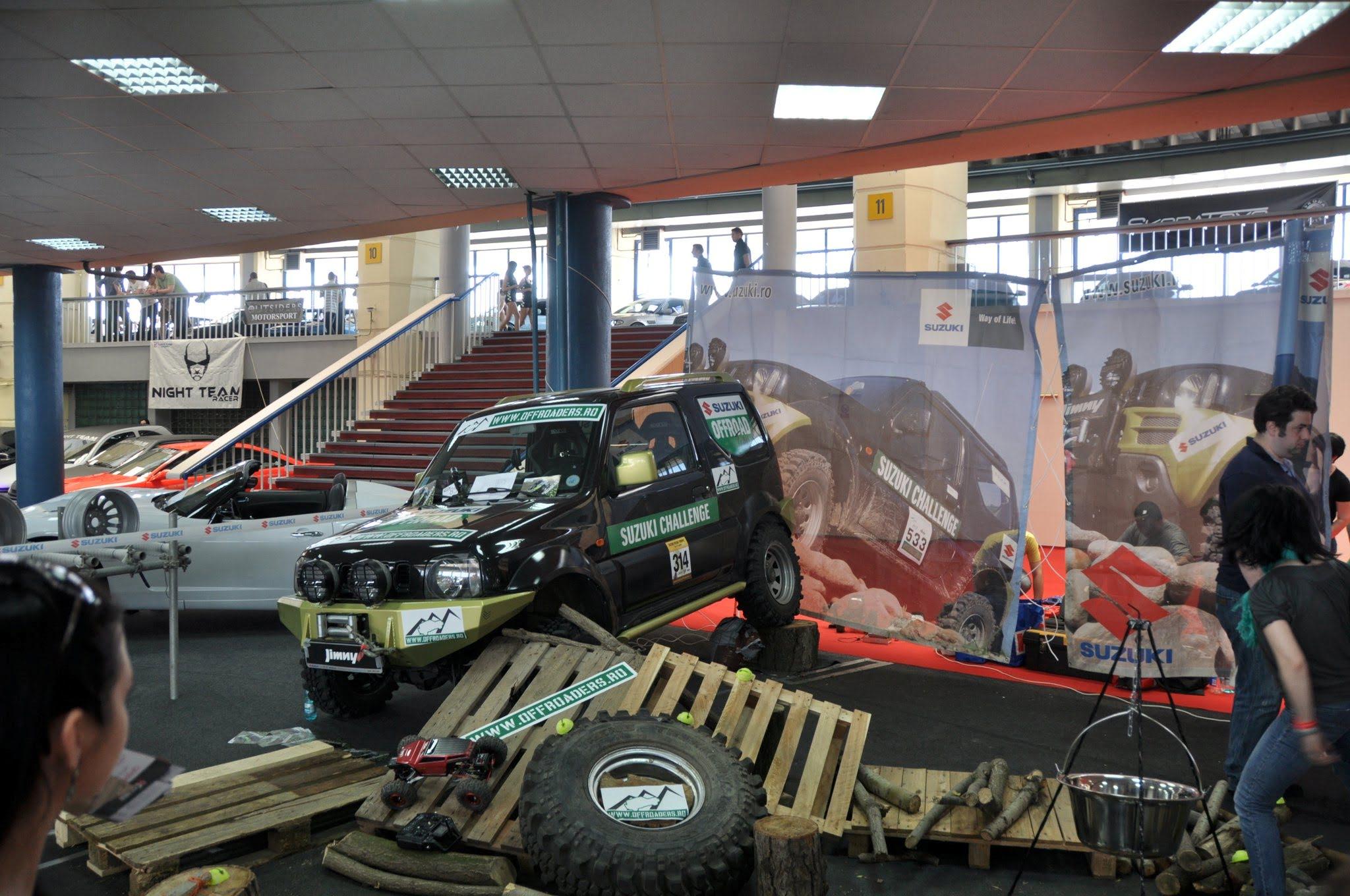 Automobile electrice si masini modificate pot fi vazute la Exporom Auto Show si 4Tuning FEST. Prima editie incepe vineri