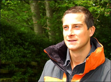 "Bear Grylls in ""curtea"" NBC"