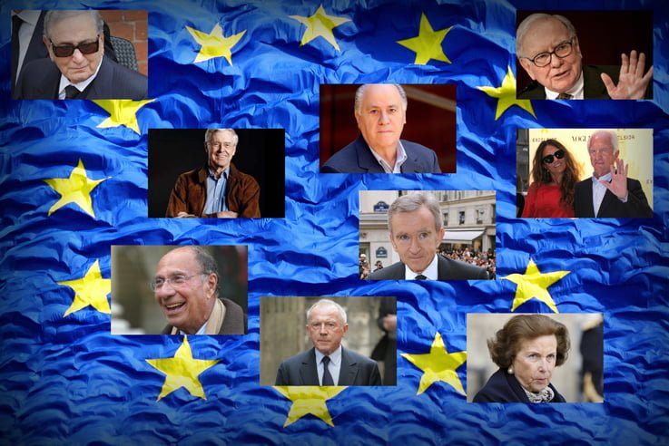 Cei mai bogati 10 europeni: Vezi cine si ce afaceri sfideaza criza!