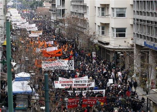 Grecii se pregatesc de o greva generala de doua zile