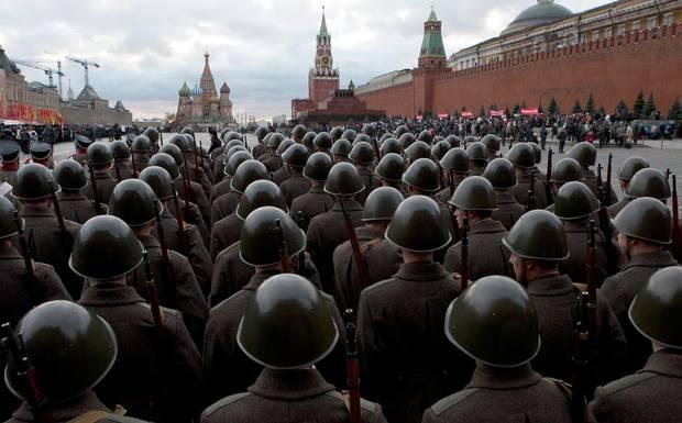 Armata Rosie a lui Stalin, recreata pentru o zi