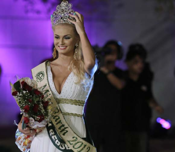 Miss Earth 2012 este din Cehia