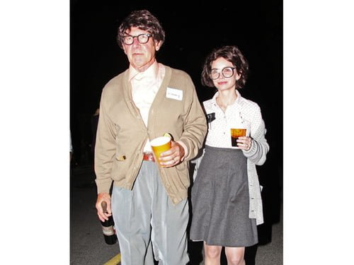 Harrison Ford si Calista Flockhart, costumatie inedita de Halloween