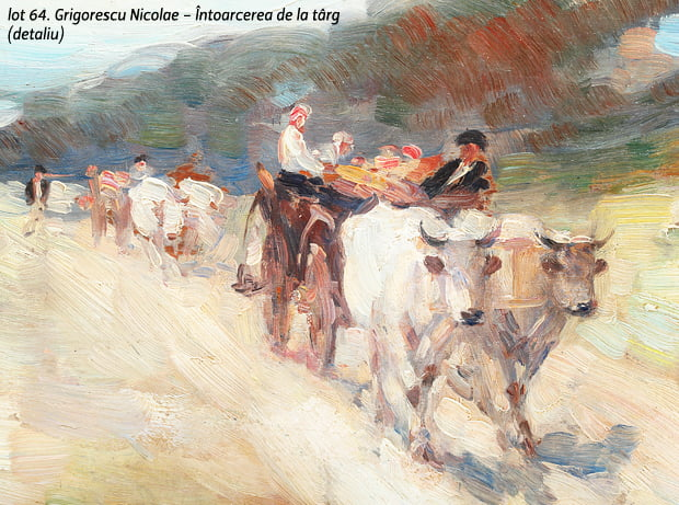 Romanii investesc in arta. Licitatia de Craciun a facut vanzari de 1,707 milioane de euro