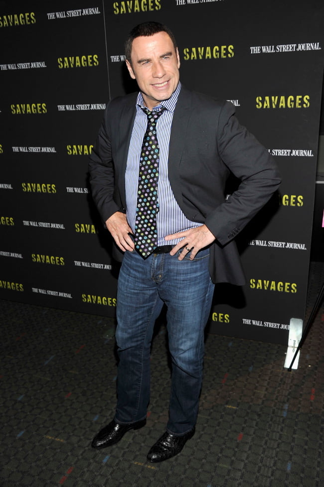 """""""Savages"""" New York Premiere - Inside Arrivals"""