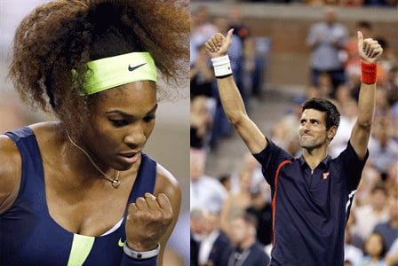 Djokovici si Serena Williams, desemnati campioni mondiali pentru 2012 de catre ITF
