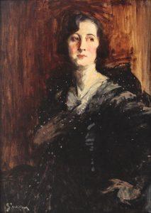 Eustatiu Stoenescu, Portretul unei aristocrate