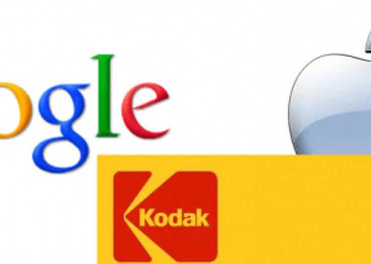 Apple si Google s-au asociat pentru a licita patentele falimentarei Kodak! Vezi ce suma ofera!