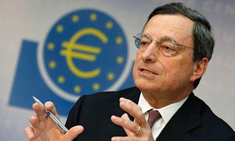 Mario Draghi este Omul Anului. Financial Times  a apreciat efortul presedintelui BCE  de a pastra stabilitatea euro