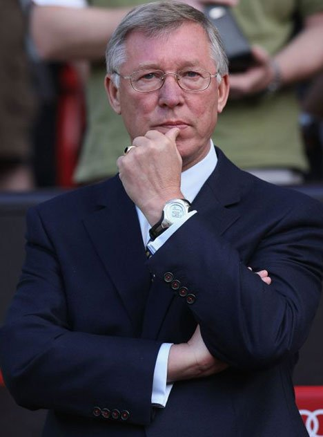 Alex Ferguson se inclina in fata CFR-ului