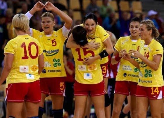 Romania – Ungaria, la Campionatul European de handbal feminin
