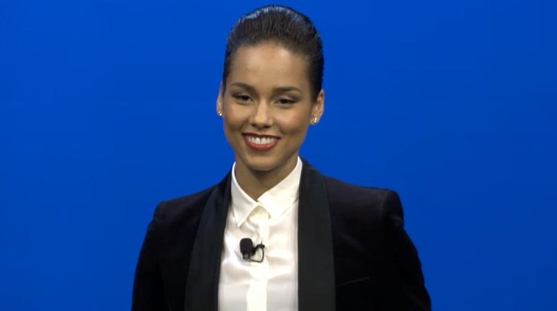 Alicia Keys, director de creatie global la BlackBerry
