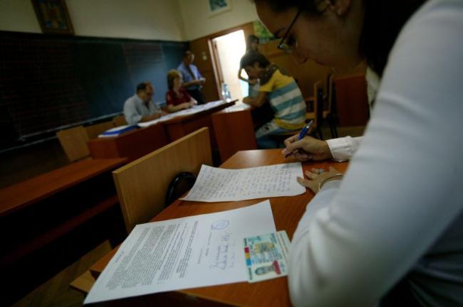 Simularile pentru examenele nationale incep miercuri in Capitala