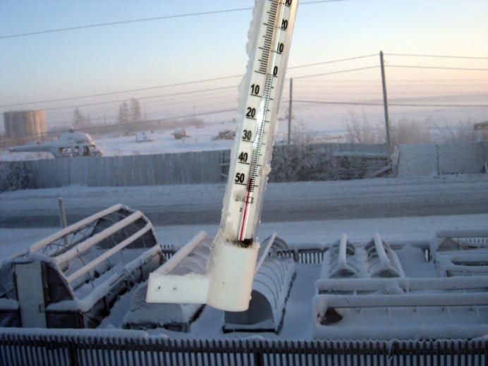 Temperaturi EXTREME in Romania! Minus 29,5 grade Celsius la Intorsura Buzaului!