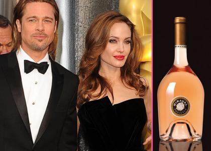 Angelina Jolie si Brad Pitt isi lanseaza propria marca de vin