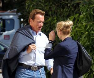 Arnold Schwarzenegger are o noua iubita
