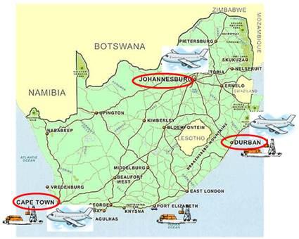 Investitorii din logistica sunt cu ochii pe Africa de Sud