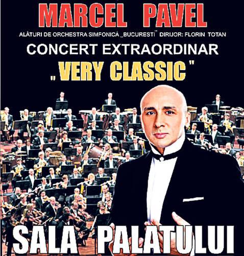 Marcel Pavel va canta cu 140 de instrumentisti