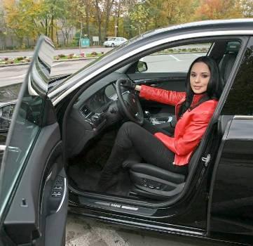 Andreea Marin, sanctionata de Politia Rutiera