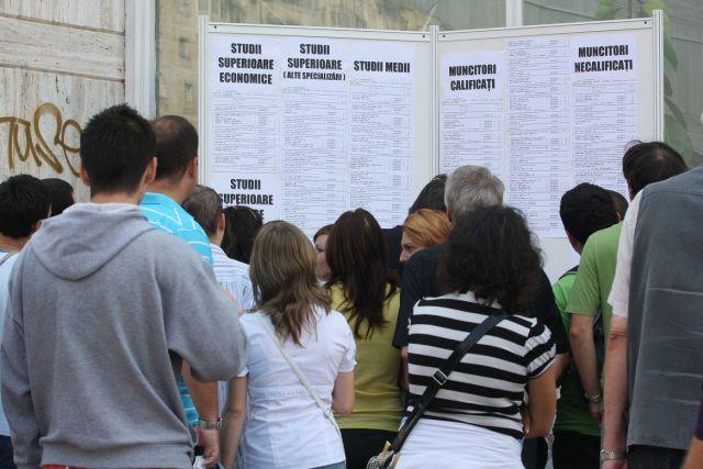 INS: Rata somajului a urcat la 6,9%, in trimestrul patru din 2012!