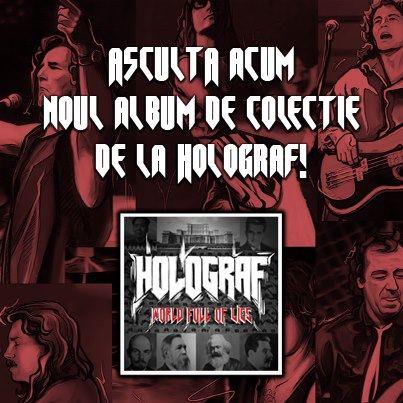 "Holograf lanseaza un album de colectie, ""World full of lies"""