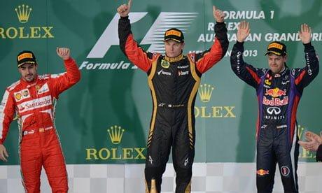 Victorie pentru Kimi Raikkonen in prima etapa a noului sezon din Formula 1