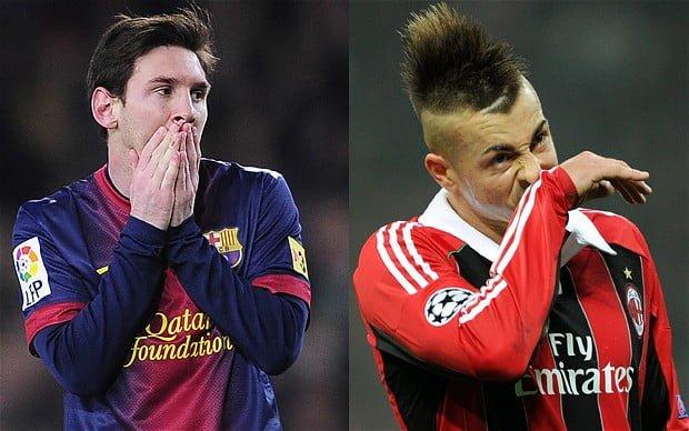 Barcelona a zdrobit-o pe AC Milan