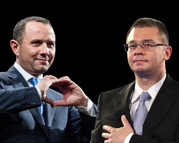 Ungureanu si Pavelescu au reinviat Alianta D.A.