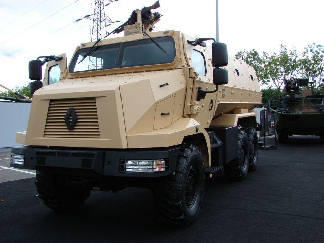 Marele producator Renault Truck Defense vine sa construiasca vehicule militare la Mizil!