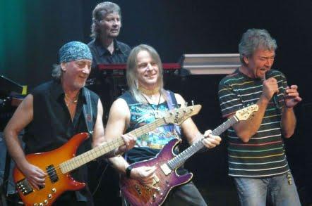 Deep Purple si UB 40 concerteaza la Cluj