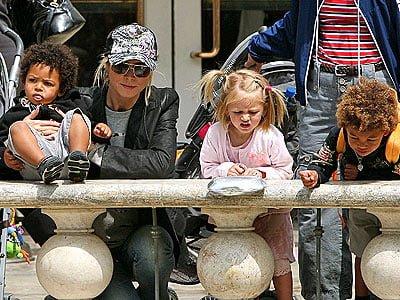 Heidi Klum isi plateste copiii ca sa manance sanatos