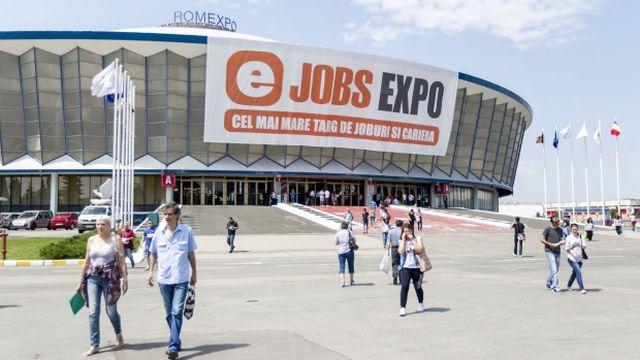 Cel mai mare Targ de Joburi si Cariera din Romania, eJobs Expo va avea loc intre 17-18 mai la ROMEXPO!