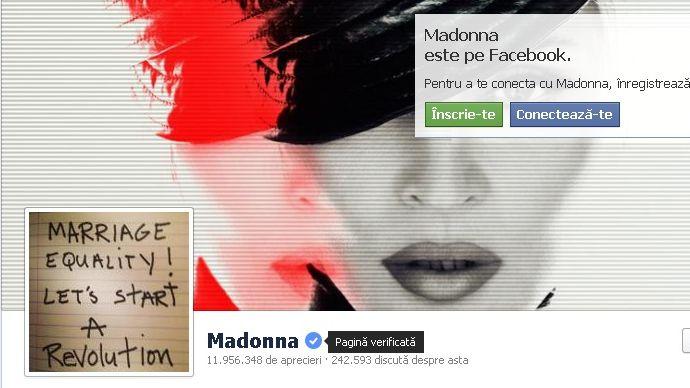 Paginile de Facebook cu celebritati vor fi insemnate pentru a fi recunoscute de utilizatori!