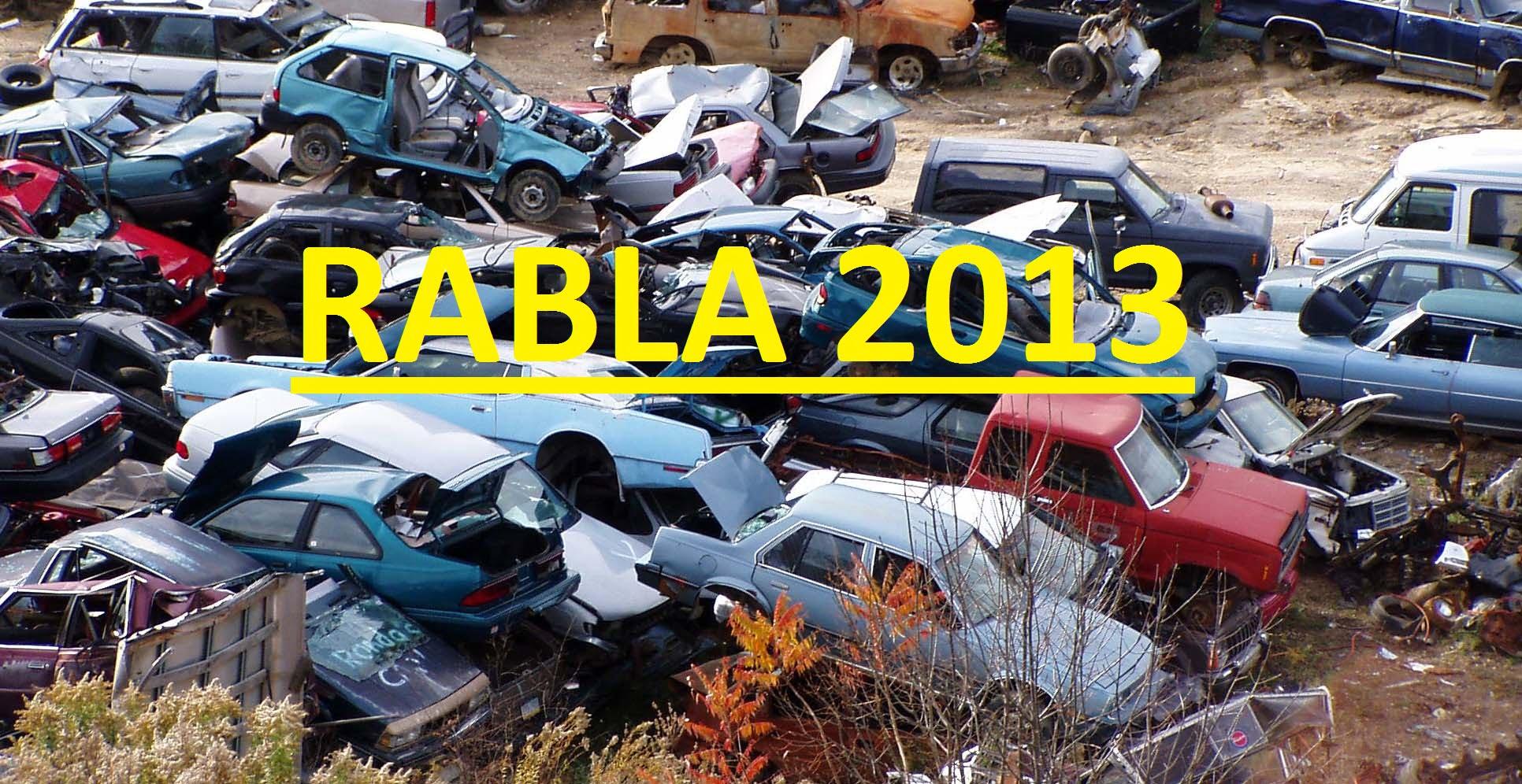 """Ghid de casare in Programul """"Rabla 2013""""!"""