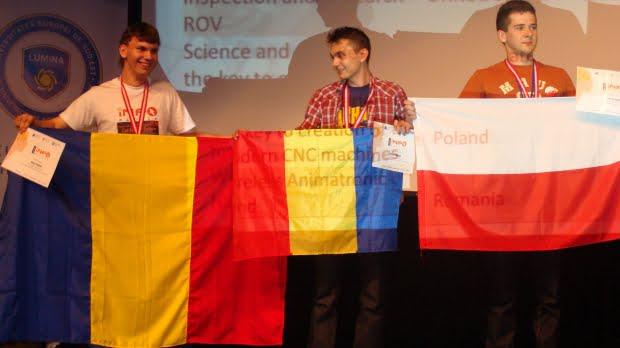 Romania a fost medaliata la concursul international INFOMatrix 2013!