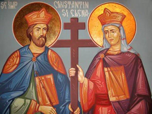 La multi ani Constantin si Elena! Vezi de ce sunt serbati cei doi imparati in 21 mai!