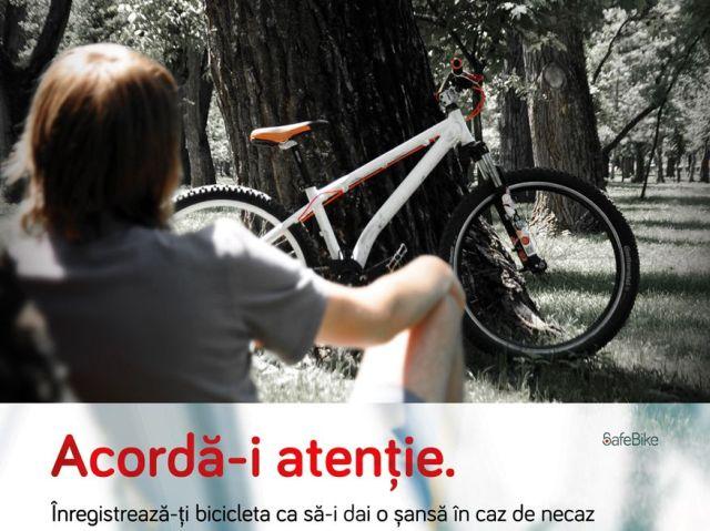 Registrul de Biciclete! Pentru siguranta BICICLETEI tale!
