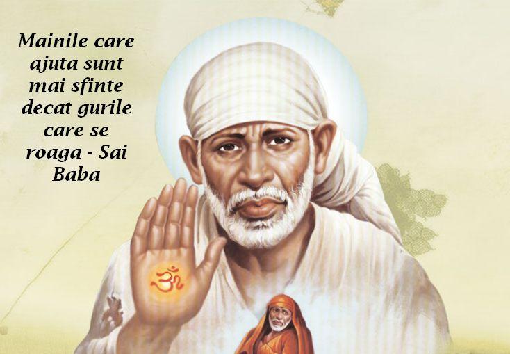 Mainile care ajuta sunt mai sfinte decat gurile care se roaga – Sai Baba