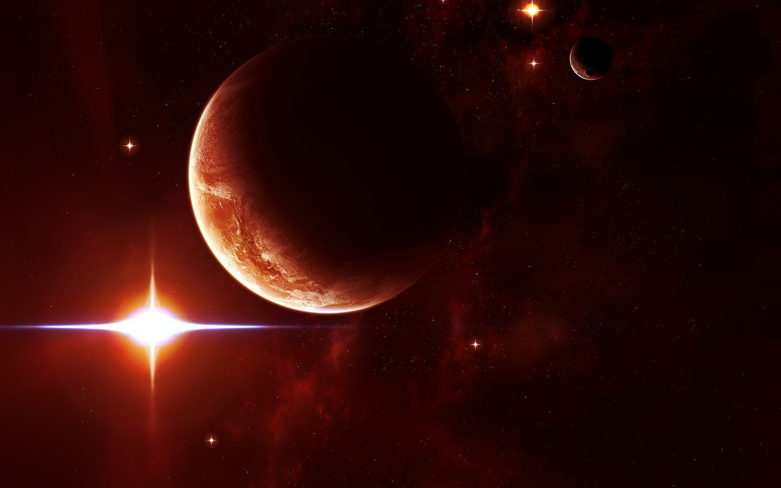Astronomii au descoperit trei exoplanete potential locuibile! FOTO