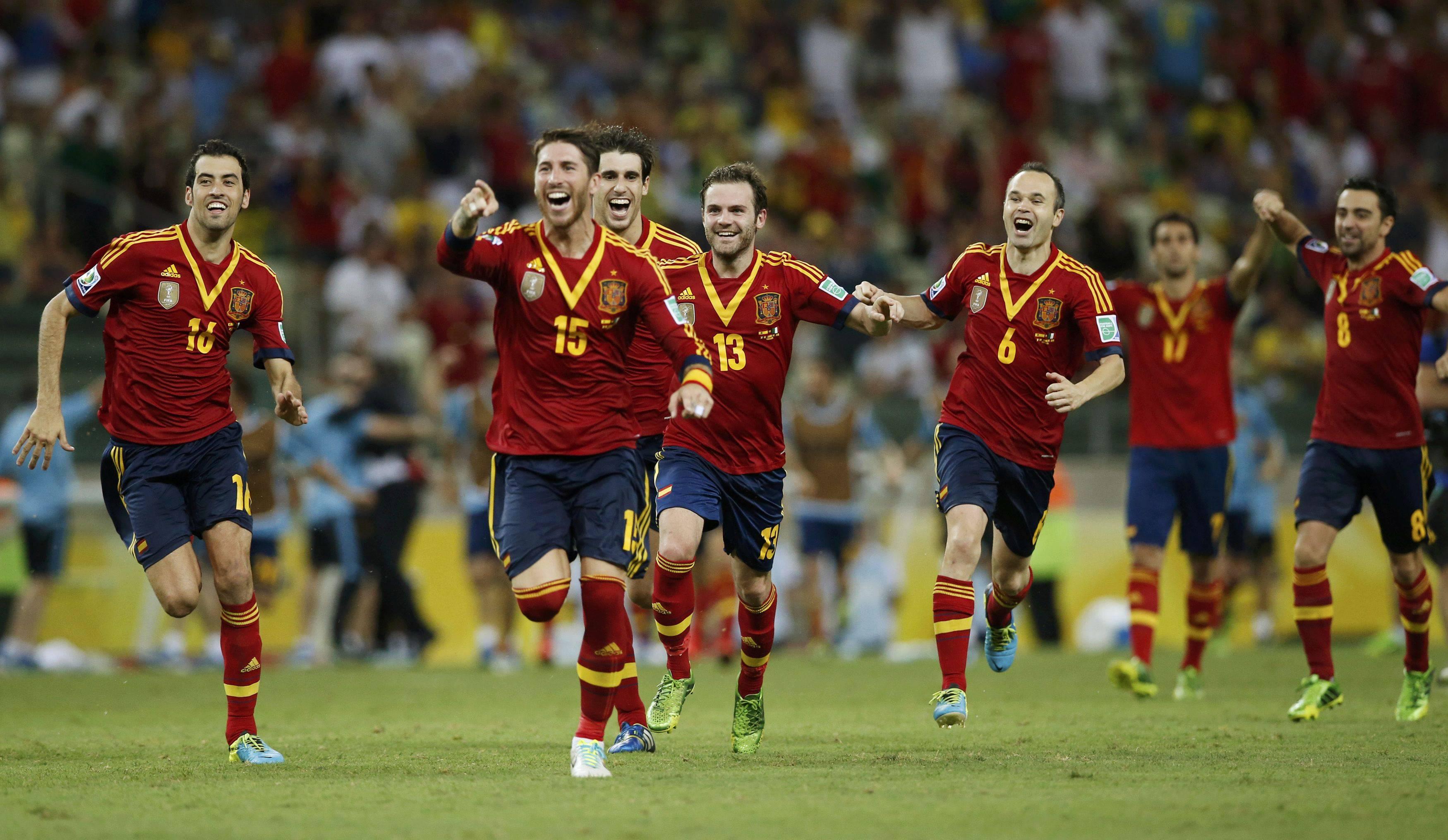 Spania, calificata in finala Cupei Confederatiilor, dupa scorul de 7-6 cu Italia, la loviturile de departajare!